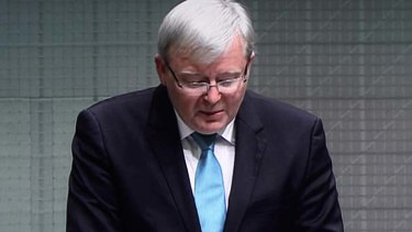 """""""I wish Australia well"""": Kevin Rudd resigns from Parliament."""