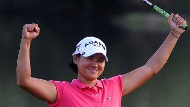 World No. 1 Yani Tseng of Taiwan.
