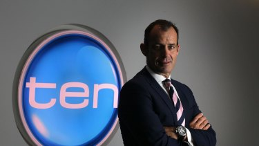"""Ten chief executive Paul Anderson: """"Sound results."""""""