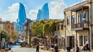 Go further for exotic travels: The Australian dollar is 14 per cent higher against the Azerbaijani manat.