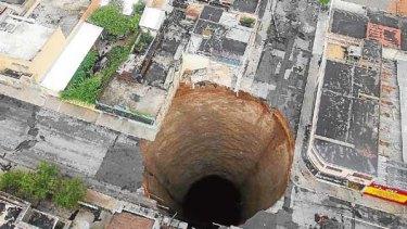 The black hole of Guatemala City