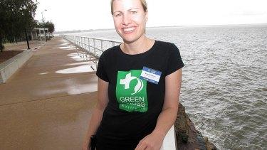 Green Cross climate change campaigner Miranda Mason.