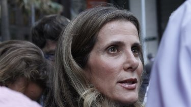 Former Health Services Union leader Kathy Jackson.