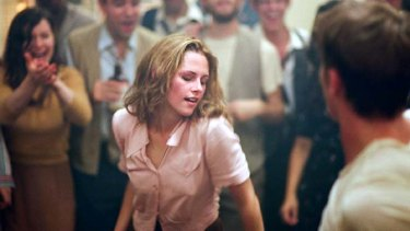 Eye-opener ... Kristen Stewart, already a fan of <em>On the Road</em> did extensive research for her role as Marylou.