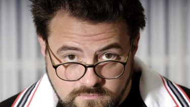 Kevin Smith ...  hosting a Q&A session.