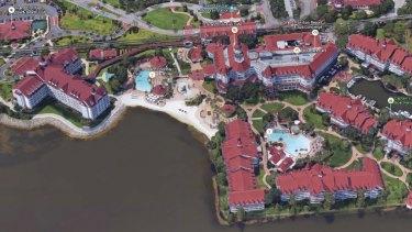 Disney's Grand Floridian Hotel in Orlando, Florida.
