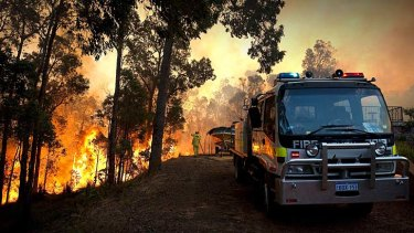 """""""Climate change is charging up the weather ... increasing the odds of any given day being a perfect day for bushfires."""""""