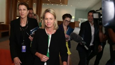 Ministers have reinstated the food star-rating system: Assistant Health Minister Fiona Nash.