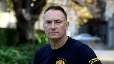 """Peter Marshall, secretary of United Firefighters Union, says  """"unnecessary anxieties"""" should now be alleviated."""