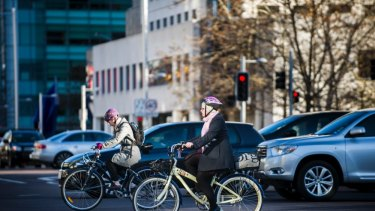 Cycling is more popular in the ACT than in any other state or territory.