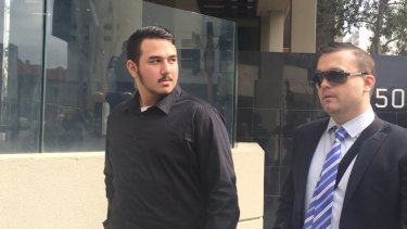 Martin Fulton (left) has been sentenced to eight months in jail.