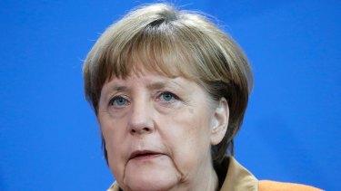 German Chancellor Angela Merkel spoke to Trump about NATO.