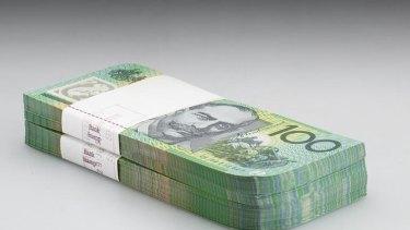 Denis Beaubois' artwork 'Currency'.