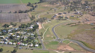 Grantham residents were offered the chance to move to a new estate on a ridge after the 2011 flood.