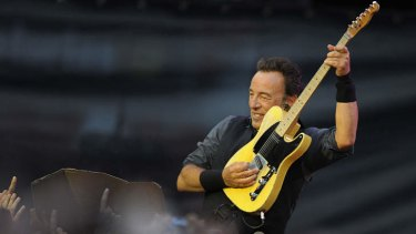 Coming to Australia: Bruce Springsteen.