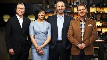Plate expectations ... Neil Perry, Jess Ho, Erez Gordon and John Lethlean are judges on Restaurant Revolution.