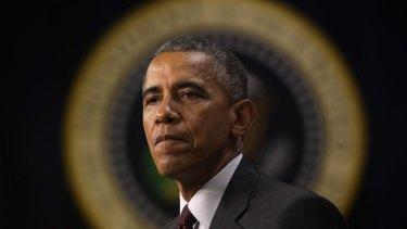 Facing stiff resistance on trade: President Barack Obama in Washington on Monday.