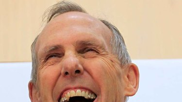 Calling it quits ...  Bob Brown.