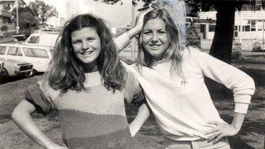 1981 sirens … Nell Schofield and Jad Capelja.