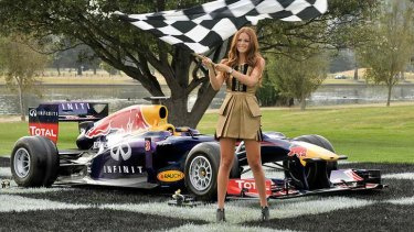 Spectacle: the launch of the 2014 Melbourne F1 Grand Prix.