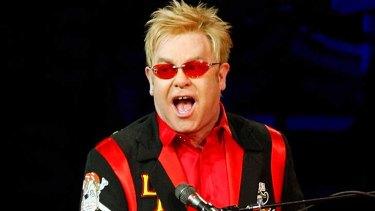 Sir Elton John ... won payout.