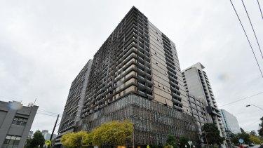 The Elm apartment building on Dorcas Street in South Melbourne.