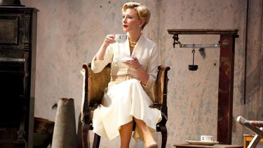 Cate Blanchett in a scene from Sydney Theatre Company's production of Uncle Vanya.
