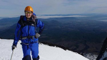 """Basically, if I'm awake then I'm working"" ... Shane Greenup on Villarica Volcano."