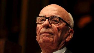 Outspoken: Rupert Murdoch.