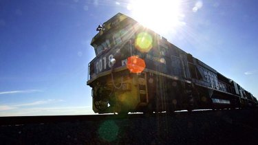 Off track: Queensland rail project is scaled back.
