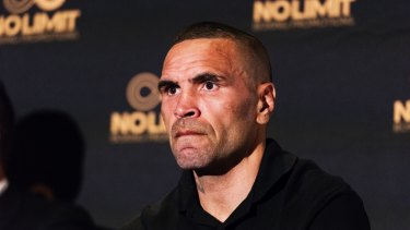 """He's only the flavour of the month because he is a white boy, just like Danny Green was the white boy""L Anthony Mundine."