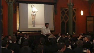 College life ... a recent St John's College function at Sydney University.