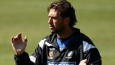 In charge at the time ... Tony Popovic.
