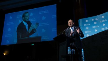 Tweaking rules: Prime Minister Tony Abbott in Perth.