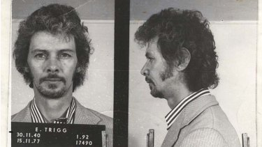 Mugshots of Eddie Trigg who pleaded guilty to conspiracy to abduct Nielsen.