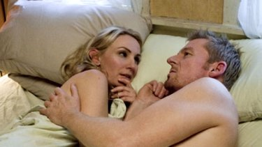 Lisa McCune stars with Richard Roxburgh in Rake.