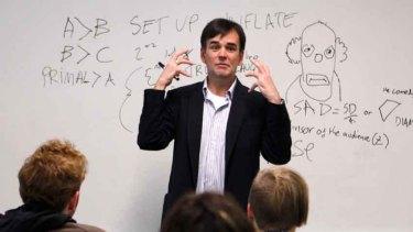 Tim Ferguson takes a comedy writing class