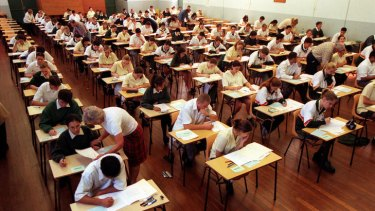 'I don't know why I bothered' ... students used social media to complain about the maths paper.