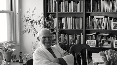 """Back Home"", Hayes' photo of Oliver Sacks in March 2015."