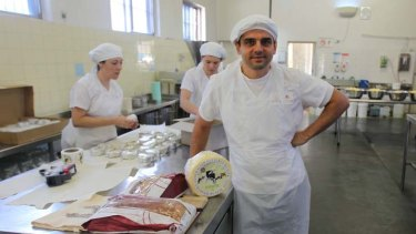 Cream of the crop ... Pierre Issa in his kitchen.