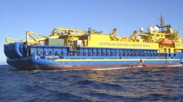 The MV Oceanic Viking.