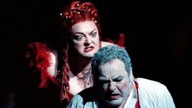 Opera Australia production of Salome with Lisa Gasteen and Richard Greager.