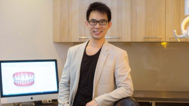 Dr Reuben Sim works four days as a clinician and says there is an artistic as well as health dimension to his practice.