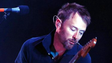 Thom Yorke of Radiohead performs in 2006.