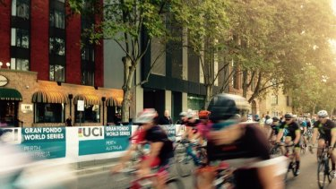The Gran Fondo in Perth caused traffic chaos with numerous road closures on Friday and Sunday.