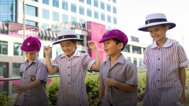 Vertical primary schools are taking off in other Australian cities like Melbourne.