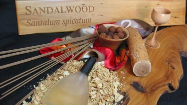 Sandalwood is used in a wide range of products