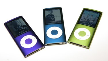 Apple iPods.