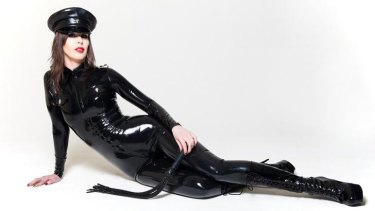 Sydney Dominatrix Mistress Jadis prefers to be in charge.