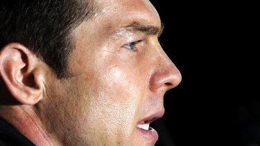 Former Richmond and West Coast Eagles star Ben Cousins.
